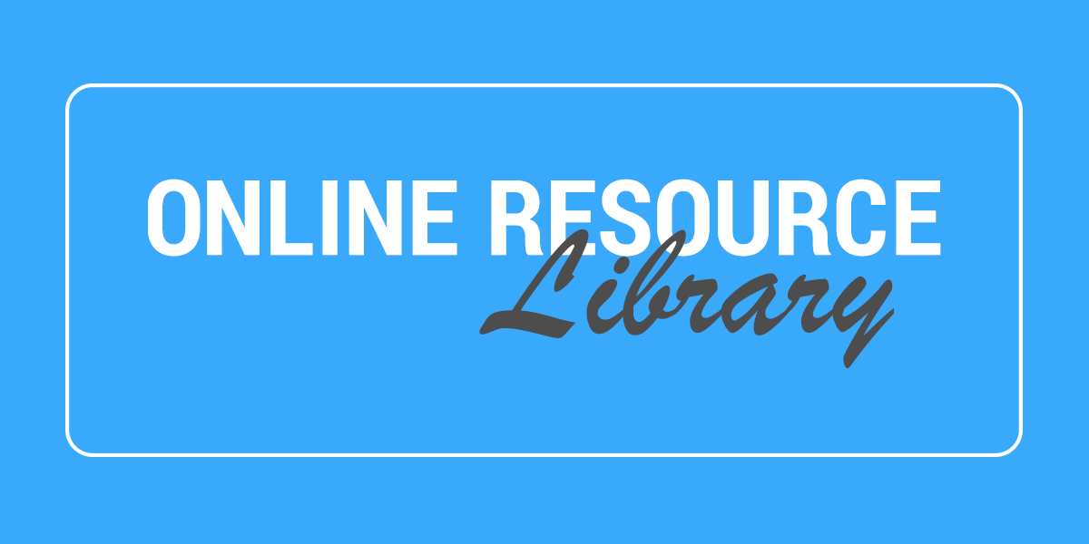 Online Resource Library button